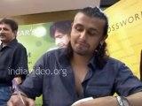 Playback singer Sonu Nigam loves to eat