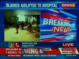 Deadly attack on forces by naxals in Jharkhand; 15 jawans injured in IED blast