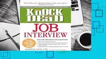 About For Books  Knock 'em Dead Job Interview: How to Turn Job Interviews Into Job Offers  Best