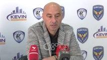 """RTV Ora - """"Dorëzohet"""" Gjoka: Ndaj Tiranës për të konsoliduar vendin e dytë"""