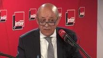 """Jean-Yves Le Drian, Ministre de l'Europe et des Affaires étrangères sur le cas de journalistes convoqués à la DGSI : """""""