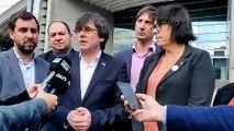Puigdemont anuncia que han iniciat els tràmits legals contra el veto a l'Eurocambra