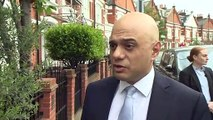 Sajid Javid vows to 'promote unity' as next Tory leader & PM
