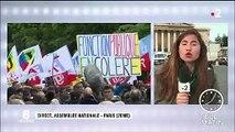 Fonction publique : manifestation contre la réforme