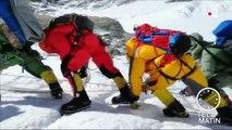 Népal : c'est la queue sur l'Everest