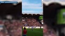 Les buts de Zinedine Zidane et de Fabien Barthez lors d'un match des légendes