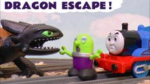 How to Train Your Dragon Rescue with Thomas and Friends and Disney Pixar Cars 3 Lightning McQueen as they help the Funny Funlings create a Dinosaur for Kids with Toothless and Hiccup rescuing