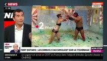 Morandini Live - Fort Boyard : les incidents s'accumulent sur le tournage (vidéo)