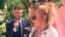 Mariage de Julien Tanti et Manon Marsault : les coulisses - La cérémonie laïque (Exclu vidéo)