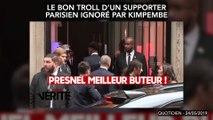 Le bon troll d'un supporter parisien ignoré par Kimpembe
