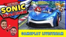 Team Sonic Racing Gameplay Live   Sonic the Hedgehog Racing Showdown