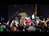 Chewbacca (Wookie) crowd surfing to Violent Soho at Splendour in the Grass Festival.