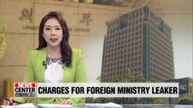S. Korean foreign ministry to charge diplomat responsible for leaking Moon-Trump phone conversation with criminal charges