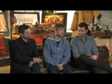 The Hobbit Interview: Martin Freeman, Andy Serkis and Richard Armitage.