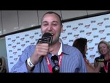 Big Dave (Canberra) on the MusicOz Red Carpet 2013 (AIMAs)
