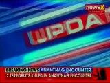 Jammu Kashmir Anantnag Encounter: Forces Gun Down 2 Terrorists in Anantnag