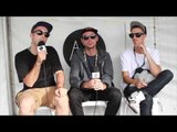Interview: Thundamentals at Groovin The Moo (Maitland 2014) Part 1