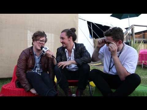 Safia: Interview at Falls Festival (Lorne, Victoria 2014)