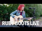 "Ruby Boots ""Wrap me in a Fever"" LIVE and Acoustic on the AU park sessions"