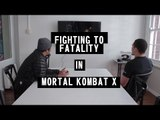 Mortal Kombat X: Fighting for Fatalities with Australian UFC Fighter Robert Whittaker