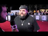 Briggs talks about N.W.A, New Music on the Straight Outta Compton Red Carpet