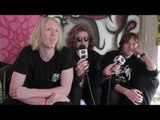 British India chatting backstage at Festival of the Sun