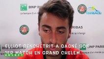 """Roland-Garros 2019 - Elliot Benchetrit : """"Je suis un peu fou... et je rêverai de jouer Nadal ou Federer à Roland-Garros"""""""