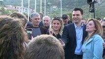 Protesta e opozitës në Elbasan (Pa koment)  - Top Channel Albania - News - Lajme