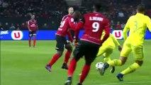 J16 EA Guingamp - FC Nantes (2-0) - Résumé - (EAG - FCN)   2016-17