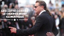 Leo DiCaprio présente un documentaire à Cannes