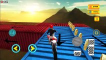 Real Ramp Impossible Bike Stunt 2019 - Motorbike Stunts Games - Android Gameplay FHD #2