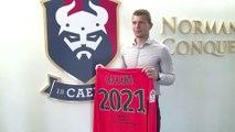 Thomas Callens prolonge au SMCaen jusqu'en 2021