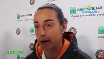 """Roland-Garros 2019 - Caroline Garcia, de Strasbourg à son 1er tour gagné à Roland-Garros : """"Les choses se sont enchainées assez vite"""""""