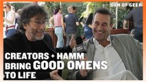 Good Omens (2019) - Gaiman, Hamm, and MacKinnon Interview