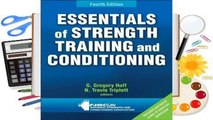 [Read] Essentials of Strength Training and Conditioning  For Trial