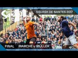 Squash: Marche v Müller - Men's Final - Open International de Squash de Nantes 2017