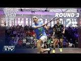 Squash: World Series Finals 2017/18 - Men's Rd 3 Roundup