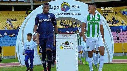 Universidad Católica 1:0 América de Quito
