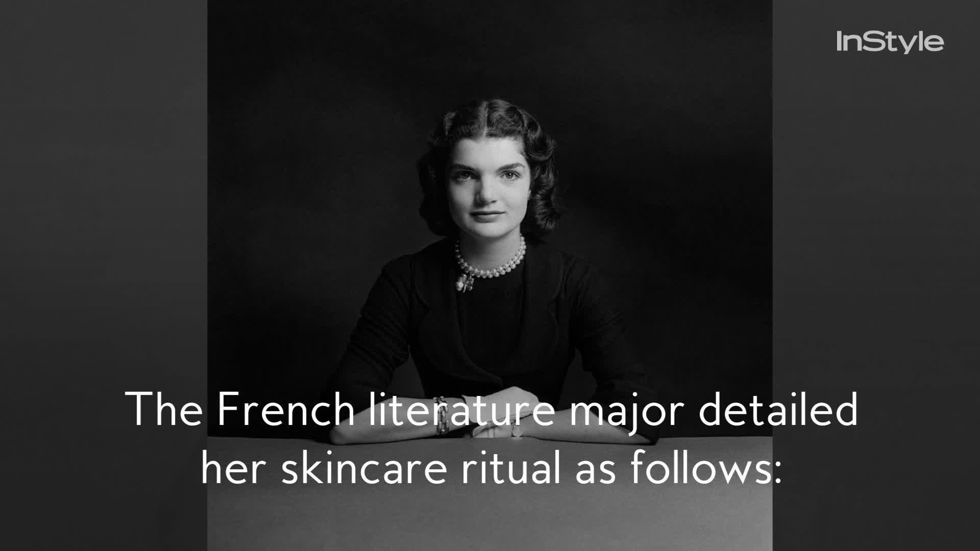 Jackie Kennedy's Skincare Routine Was Surprisingly Simple