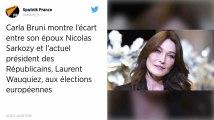 Européennes. Carla Bruni s'en prend à Laurent Wauquiez sur Instagram