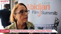 Première édition de Abidjan film Summit, Henriette Duparc, Présidente de la Fondation Henri Duparc, «Il faut que la profession soit assainie»