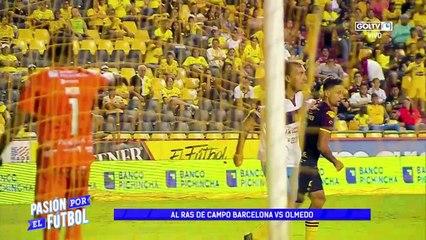 Al ras de campo   Barcelona 2:0 Olmedo