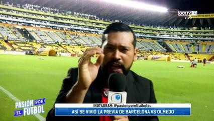 Previa Andy   Barcelona 2:0 Olmedo