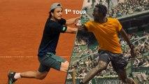 Roland-Garros 2019 : le résumé de Gaël Monfils - Taro Daniel