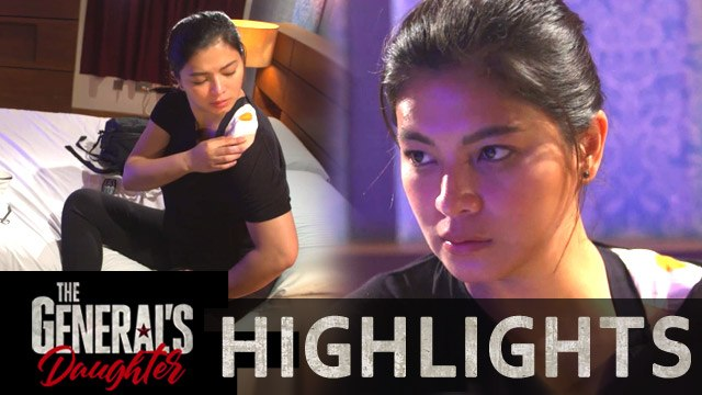 Rhian gets injured while escaping   The General's Daughter