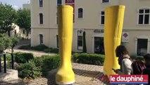 Montélimar : des objets géants du quotidien exposés en centre-ville