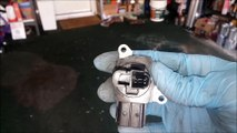 How To Clean Your Mass Air Flow Sensor Mercedes W202 C230