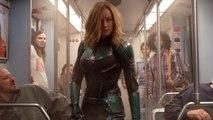 'Avengers: Endgame' Pics Show Captain Marvel's Original Costume