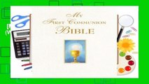 [MOST WISHED]  My First Communion Bible (White)