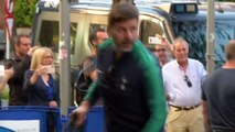 Tottenham Hotspur arrive in Madrid ahead of the UEFA Champions League final